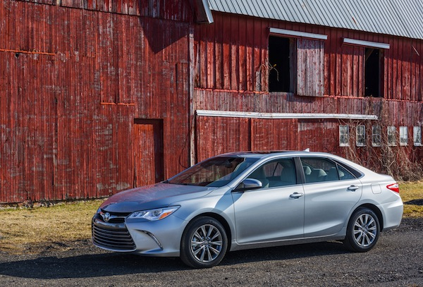 2015 Toyota Camry USA May 2014. Picture courtesy of motortrend.com