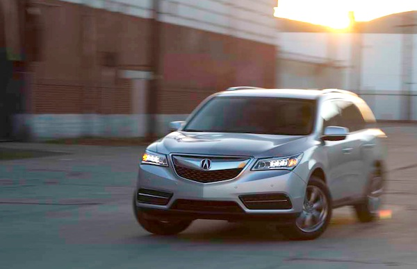 Acura MDX USA May 2014. Picture courtesy of motortrend.com