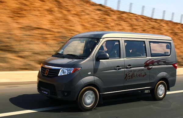 Chana Taurus. Picture courtesy of auto.sohu.com