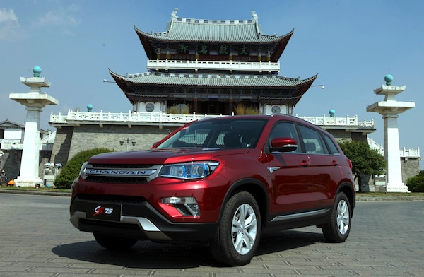ChangAn CS75 China May 2014