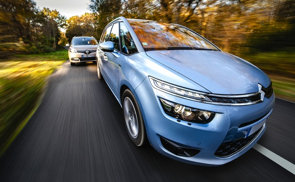 Citroen C4 Picasso Poland May 2014. Picture courtesy of automobile-magazine.fr