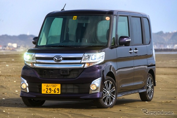Daihatsu Tanto Japan May 2014. Picture courtesy of response.jp