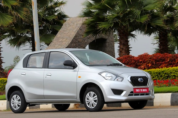 Datsun Go India May 2014. Picture courtesy of MotorBash.com