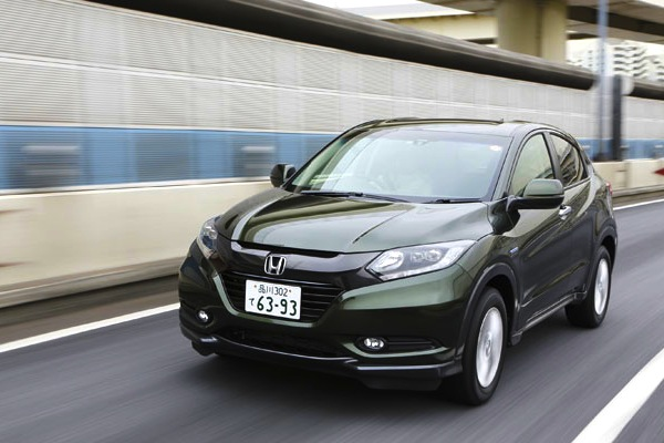 Honda Vezel Japan May 2014. Picture courtesy of carsensor.net