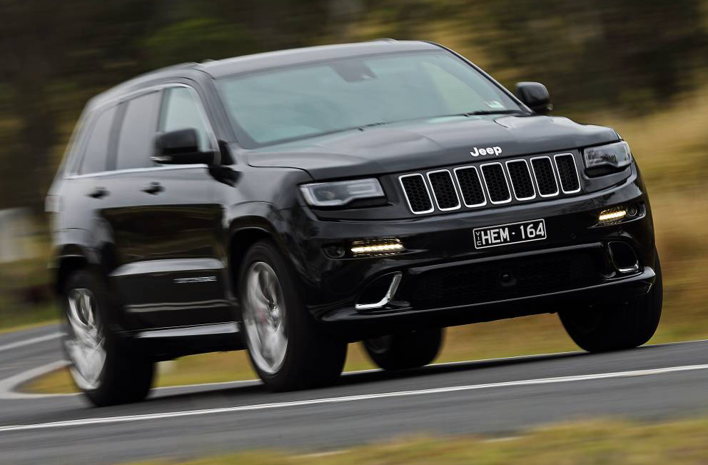 The Jeep Grand Cherokee is more popular in Australia than at home in