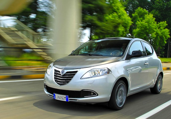 Lancia Ypsilon France May 2014. Picture courtesy of largus.fr