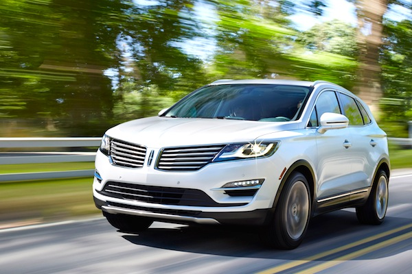 Lincoln MKC USA May 2014. Picture courtesy of motortrend.com
