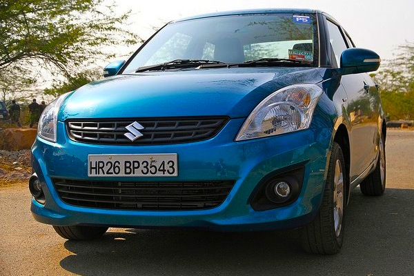 Maruti Swift DZire India May 2014. Picture courtesy of indianautosblog.com
