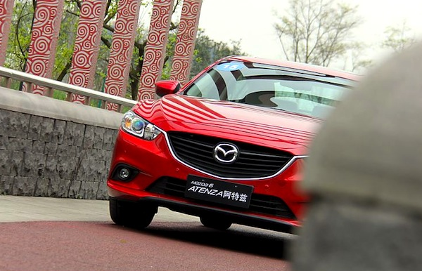 Mazda6 Atenza China May 2014. Picture courtesy of auto.sina.com.cn