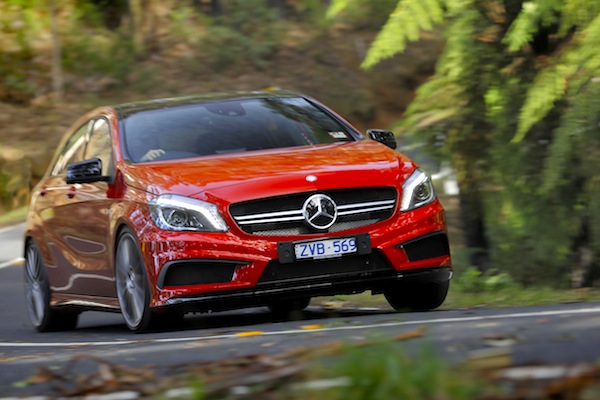 Mercedes A Class Australia July 2014. Picture courtesy of caradvice.com.au