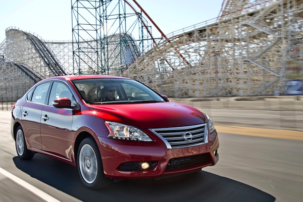 Nissan Sentra USA August 2014. Picture courtesy of motortrend.com