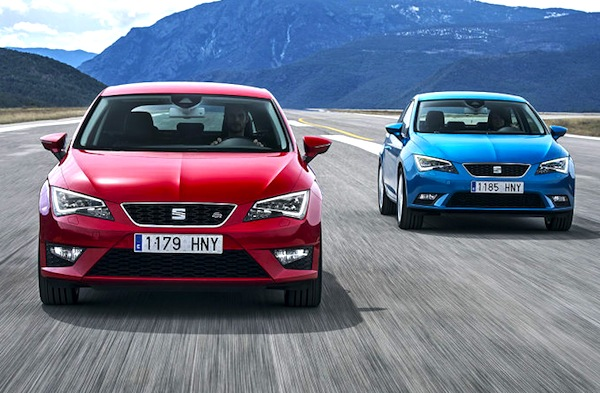 Seat Leon Germany May 2014. Picture courtesy of autobild.de
