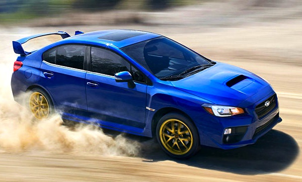 Subaru WRX Switzerland May 2014. Picture courtesy of autobild.de