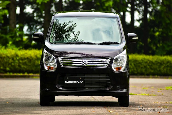 Suzuki Wagon R Japan May 2014. Picture courtesy of response.jp