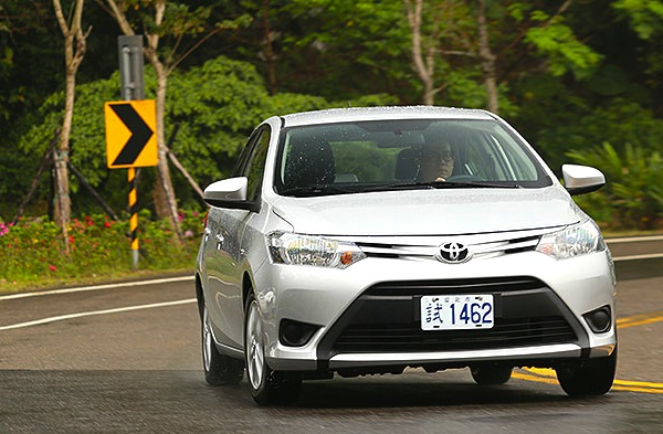 Toyota Vios Taiwan June 2014. Picture courtesy of u-car.com.tw