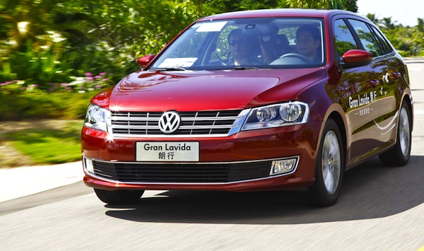 VW Gran Lavida China May 2014. Picture courtesy of auto.sohu.com