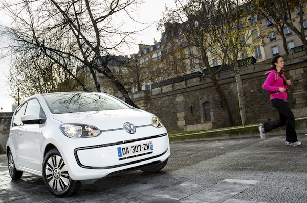 VW e-up Norway May 2014. Picture courtesy of largus.fr