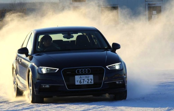 Audi A3 Sedan Japan June 2014. Picture courtesy of ameba.jp