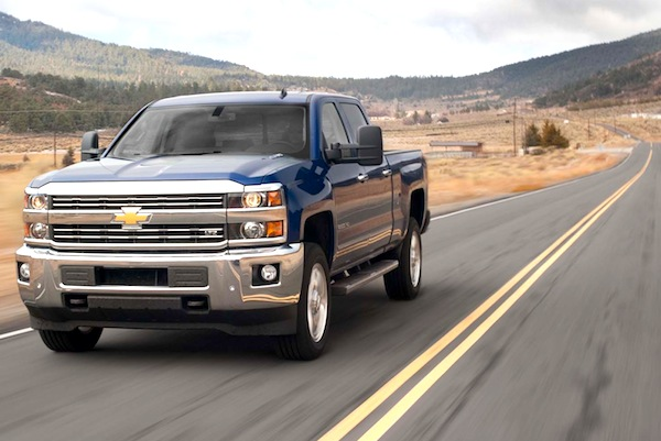 Chevrolet Silverado Mexico June 2014. Picture courtesy of motortrend.com