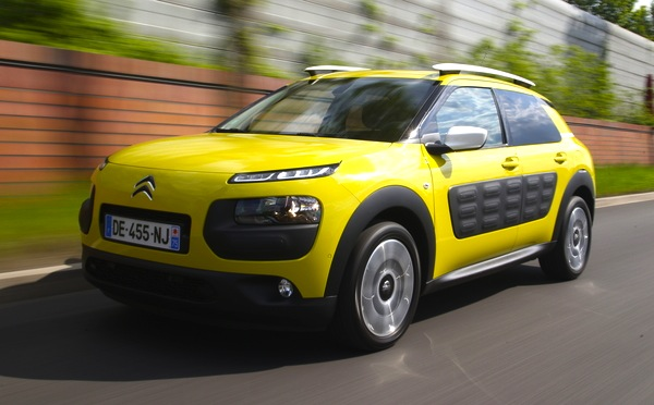 Citroen C4 Cactus France June 2014. Picture courtesy of automobile-magazine.fr