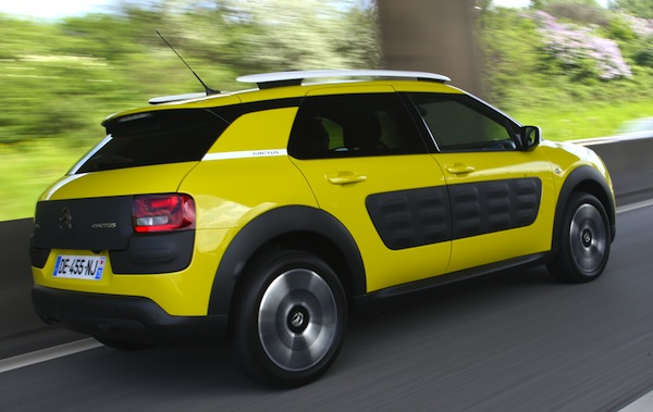 Citroen C4 Cactus Portugal June 2014. Picture courtesy of automibile-magazine.fr