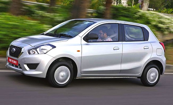 Datsun Go India June 2014. Picture courtesy of intoday.in