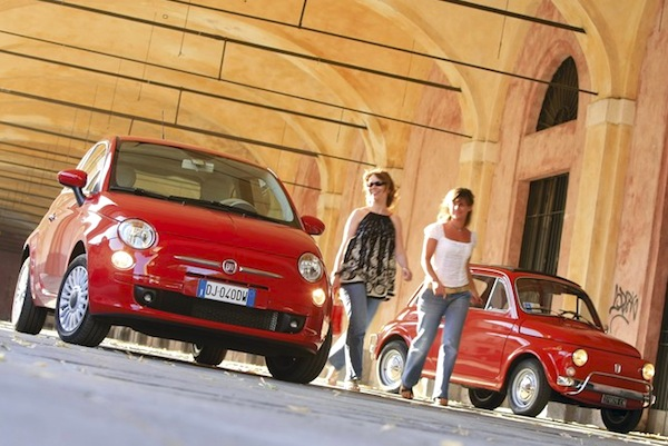Fiat 500 Europe September 2014. Picture courtesy of automobile-magazine.fr