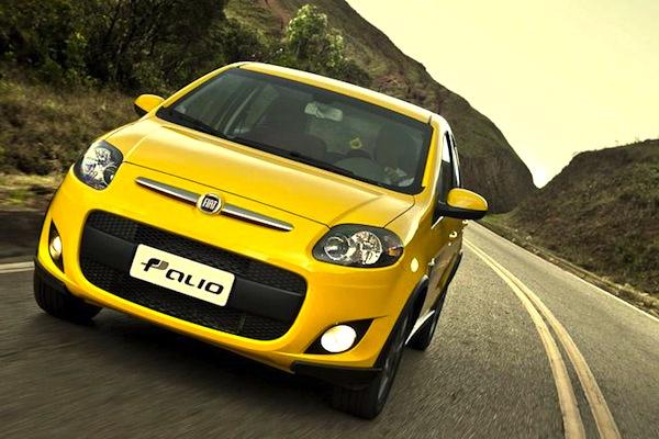 Fiat Palio Brazil June 2014