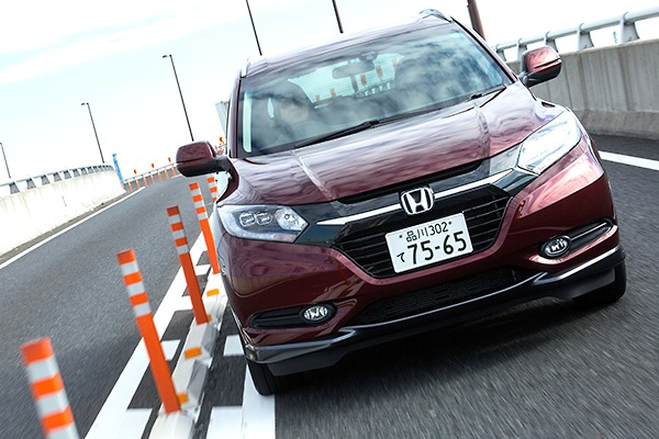 Honda Vezel Japan June 2014. Picture courtesy of car.watch.impress.co.jp