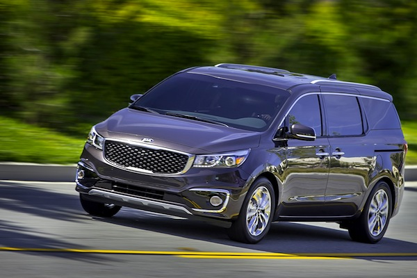 Kia Carnival South Korea June 2014. Picture courtesy of motortrend.com