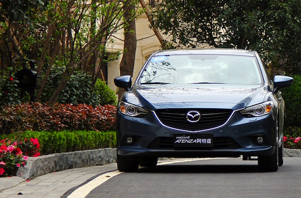 Mazda6 Atenza China June 2014. Picture courtesy of xgo.com.cn