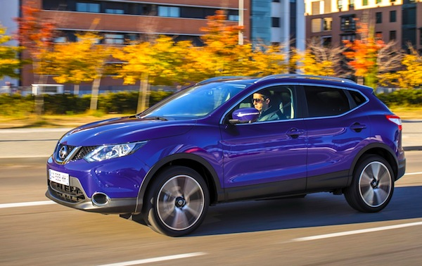 Nissan Qashqai Russia June 2014. Picture courtesy of zr.ru