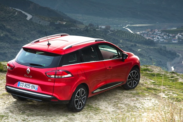 Renault Clio Italy June 2014. Picture courtesy of largus.fr