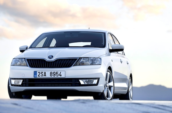 Skoda Rapid Russia June 2014