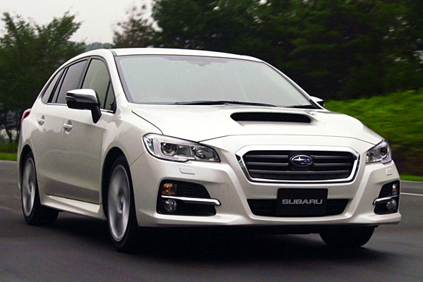 Subaru Levorg Japan June 2014. Picture courtesy of autoc-one.jp