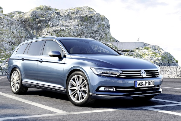 VW Passat Germany June 2014