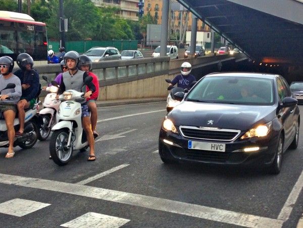 7. Peugeot 308 Barcelona August 2014