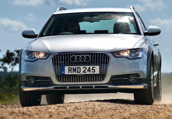Audi A6 Sweden June 2014