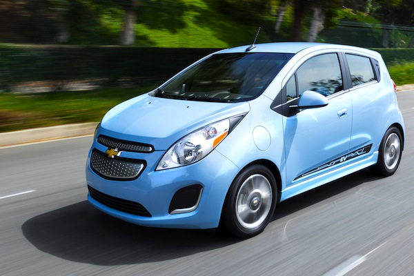 Chevrolet Spark Mexico July 2014. Picture courtesy of motortrend.com