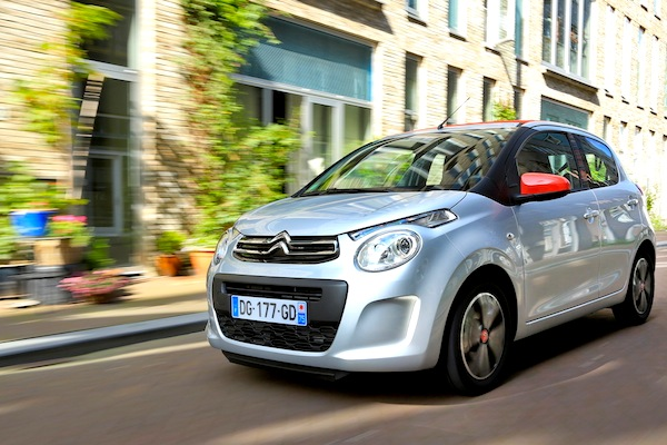 Citroen C1 II France July 2014. Picture courtesy of largus.fr
