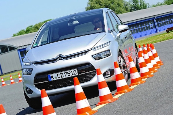 Citroen C4 Picasso Germany 2013. Picture courtesy of autobild.de