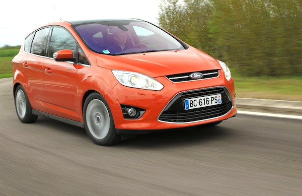 Ford C-Max UK July 2014. Picture courtesy of largus.fr