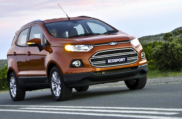 Ford Ecosport South Africa July 2014