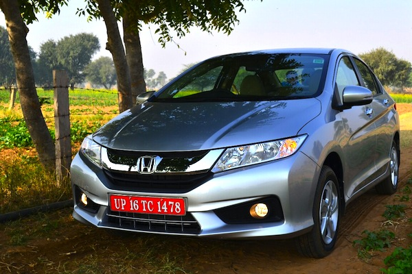 Honda City India July 2014. Picture courtesy of indiaautosblog.com
