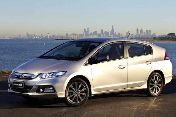 Honda Insight Israel July 2014