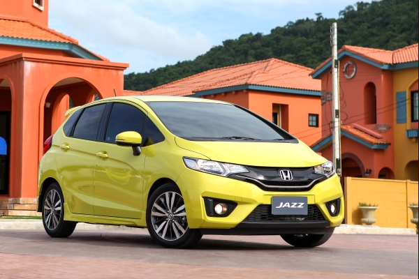 Honda Jazz Thailand July 2014. Picture courtesy of posttoday.com