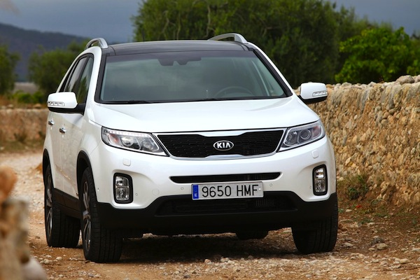 Kia Sorento New Caledonia July 2014