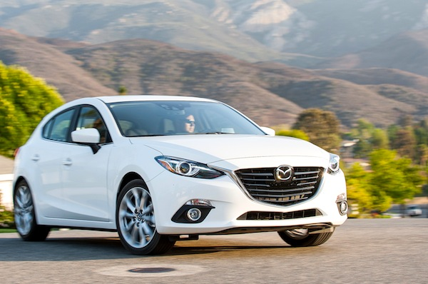 Mazda3 Mexico June 2014. Picture courtesy of motortrend.com