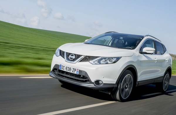 Nissan Qashqai Portgual October 2014. Picture courtesy of largus.fr