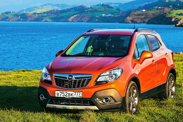 Opel Mokka Russia July 2014. Picture courtesy of zr.ru